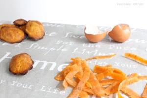 Madeleines carottes