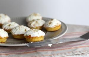 Cupcakes chèvre courgette cumin