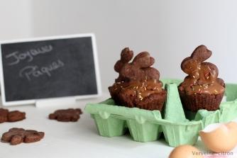 Cupcakes pâques lapin