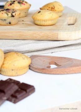 Muffin lait concentré et chocolat
