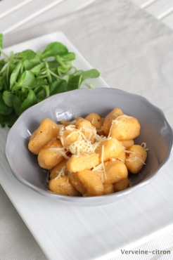 Gnocchis tomate basilic