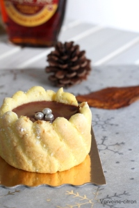 Mini charlotte chocolat érable